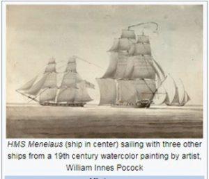 hms menelaus ship